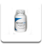 Amygdalin, Laetrile, Vitamin B-17 - Bottle with 90/500mg capsules.