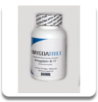Amygdalin, Laetrile, Vitamin B-17 - Bottle with 100/500mg tablets.